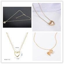 Korean Hot Hearts Alloy Necklace Fashion Creative Metal Love Can Open The Box