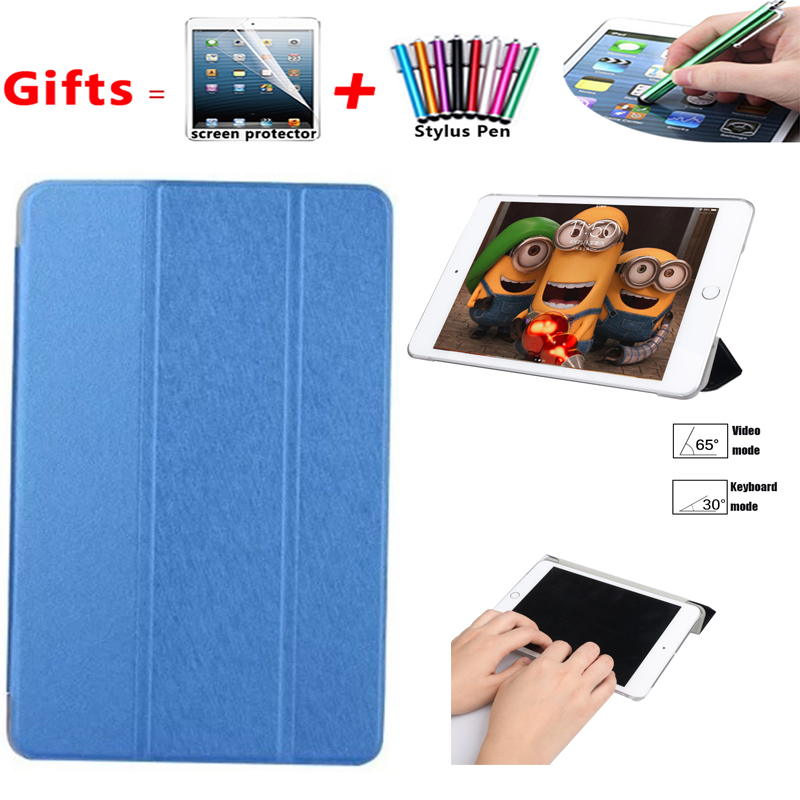 For SM-T580 Tab A6 10.1 2016 Slim Smart Case Cover- For Samsung Galaxy Tab A 10.1 T585 T587 Tablet Book Flip Cover Case Stand