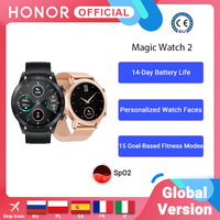 In Stock Global Version Honor Magic Watch 2 Smart Watch Bluetooth 5.1 Smartwatch Blood Oxygen 14 Days Waterproof MagicWatch 2 1