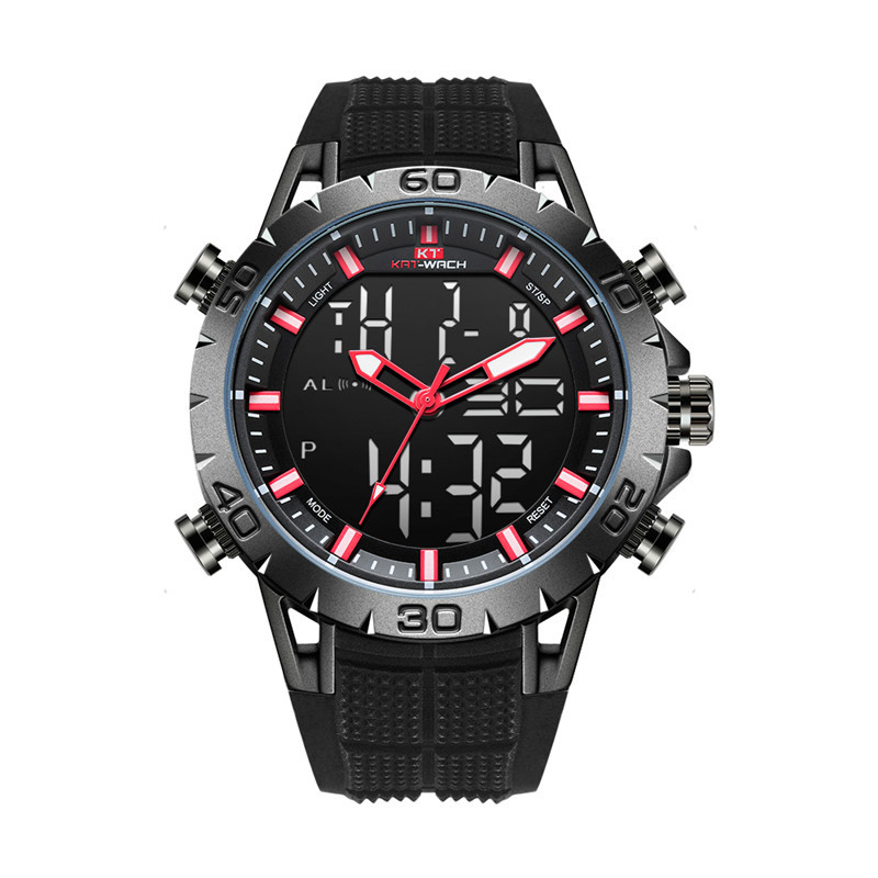 Luxury Male  Top Luxury Brand Men's Military Waterproof Leather Sport Quartz Watches Chronograph Date Fashion Casual Men's Clock