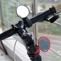 Bicycle Electric Cycling Rear View Silicone Handle Rearview Mirror Scooter Rearview Handlebar Mirrors 360 degree Rotation|Bike Mirrors| |  -