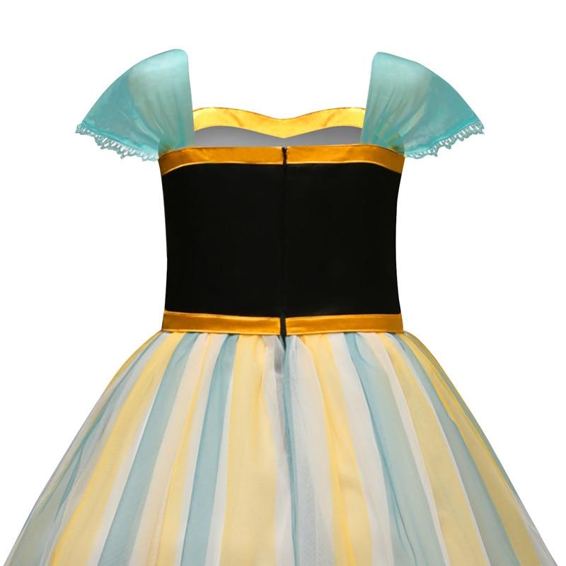 H138948f34b55422cb507fe3c3778cceaX Fancy Girl Princess Dresses Sleeping Beauty Jasmine Rapunzel Belle Ariel Cosplay Costume Elsa Anna Sofia Children Party Clothes