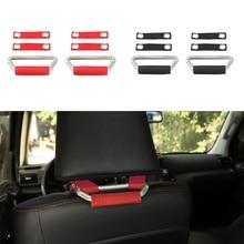 Auto Universell Griffe Für Toyota 4Runner Sitz Kopfstütze Armlehne Haltegriff Metall Rot Schwarz Auto Zubehör