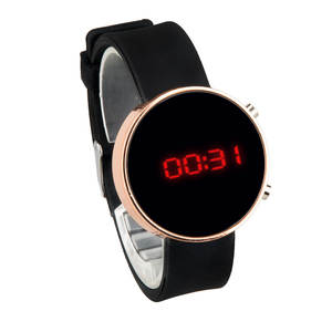 Digital Watches Band Led-Display Silicone Women Ladies for Relogio Feminino