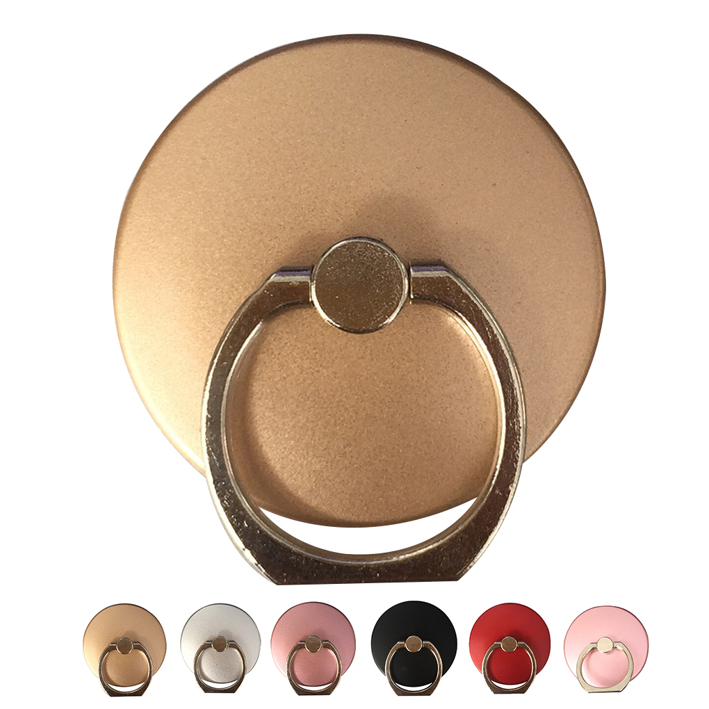 360 Degree Oval Finger Ring Smartphone Stand Holder Mobile Phone Holder Stand For IPhone For Xiaomi For Huawei All Smart Phone