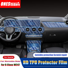 Protector-Film Center-Console Car-Accessories Interior-Mouldings Class-W247 B200 B180