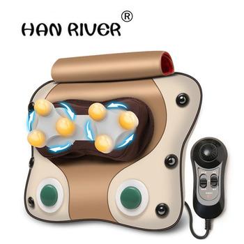 Szyjki macicy szyi talii masaż pleców instrument lędźwiowy masaż ciała poduszka do pochylania na wielofunkcyjna poduszka do domu tanie i dobre opinie HANRIVER