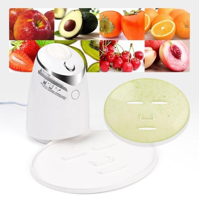 Машинка для ухода за лицом, автоматическое устройство для самостоятельного приготовления маски с натуральным овощным коллагеном, для домашнего использования, для красоты, спа салона, Eng Voice