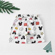 Children Shorts Baby-Boys-Girls Mickey Kids Summer Disney Cotton for Brand Disney/Mickey/Mouse