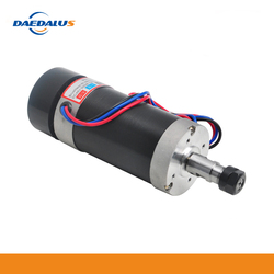 Daedalus 500W Brushless Air Cooled Spindle DC 48V Engraving Spindle Motor ER16 Collet for Mini Lathe CNC Router Machine Tool