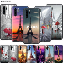 Webbedepp Paris Eiffel Tower France Case for Huawei Honor 6A 7A 7C 7X 8 8X 8C 9 9X 10 20 Lite Pro Note View(China)