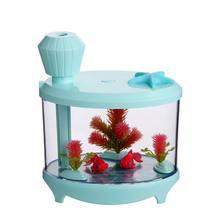 Светодиодный увлажнитель для аквариума ночник украшения дома