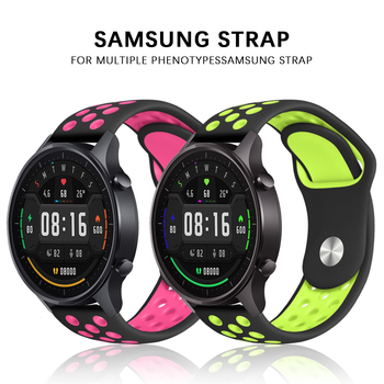 Strap for Samsung Gear S3 S2 sport Frontier Classic galaxy Watch active 42mm 46 Band huami amazfit gtr bip 22mm 20mm huawei GT 2 22mm 20mm nylon strap for samsung galaxy watch 46mm 42mm active 2 gear s3 classic band for huami amazfit bip huawei gt 2 bands