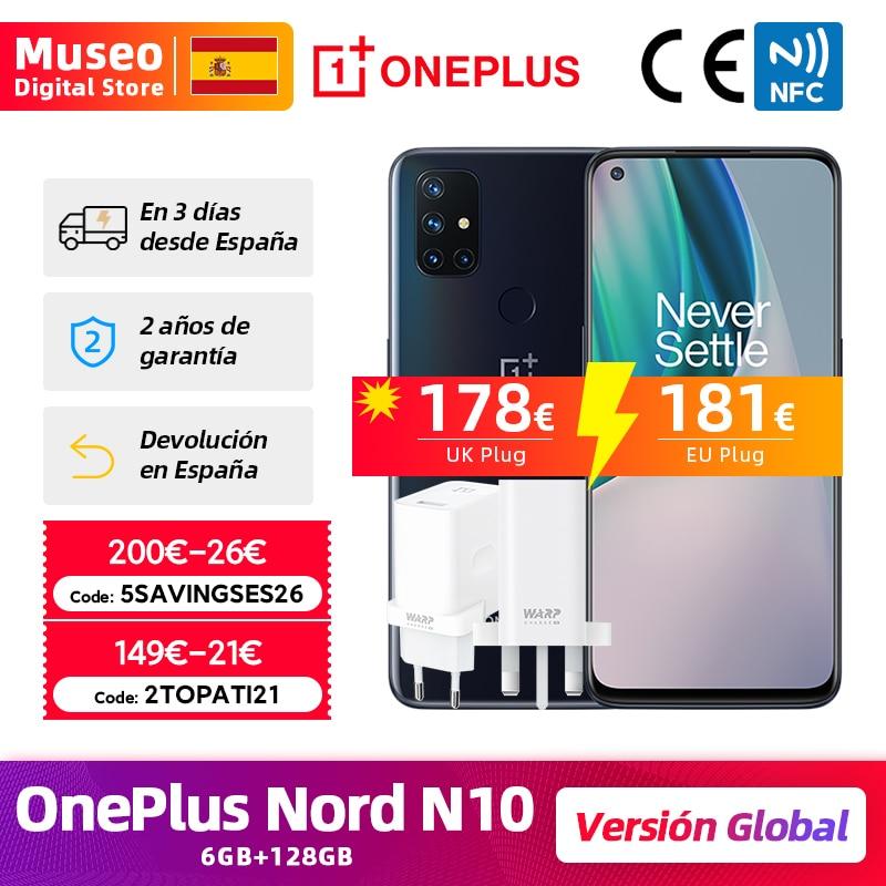 Presale Global Version OnePlus N10 Nord N10 5G Cellphone 6GB RAM 128GB ROM 6.49'' 90Hz Display Quad Camera Warp Charge 30T NFC Cellphones  - AliExpress