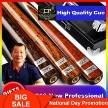 LP Billiar Duke01 One Piece Snooker Cue 3/4 Split Cue10mm Tip Professional Ashwood Shaft Rare Wood Butt 4 Colors Option