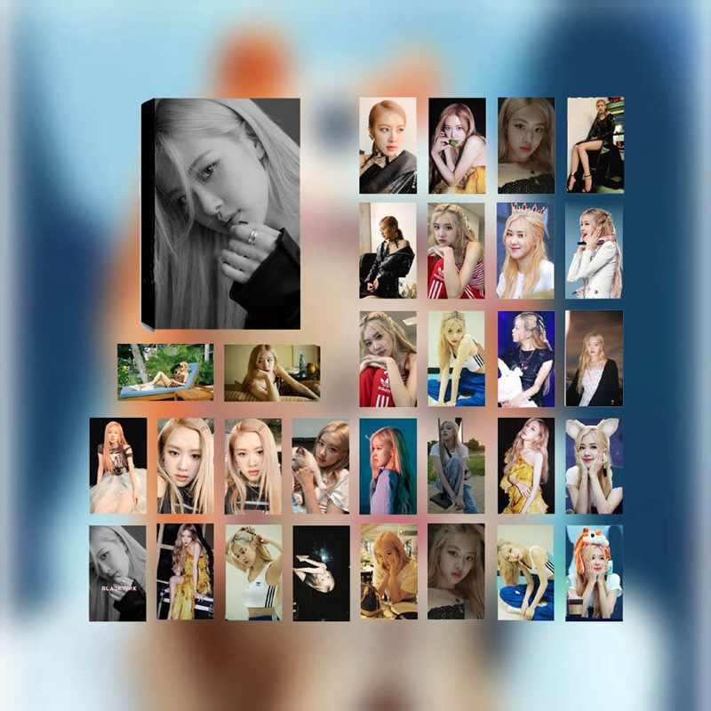 Mới nhất KPOP BLACKPINK Album Tự Làm Giấy Lomo Card Thẻ Hình Ảnh Poster HD Photocard 30 cái/bộ Người Hâm Mộ Bộ Sưu Tập