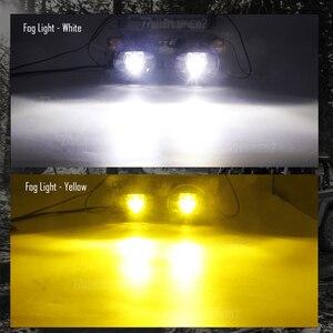 Image 4 - 2 Pieces LED Fog Light 30W 8000LM Car Front Bumper Fog Lamp 12V For Honda CR V CRV Pilot Accord Crosstour City Fit Insight CR Z