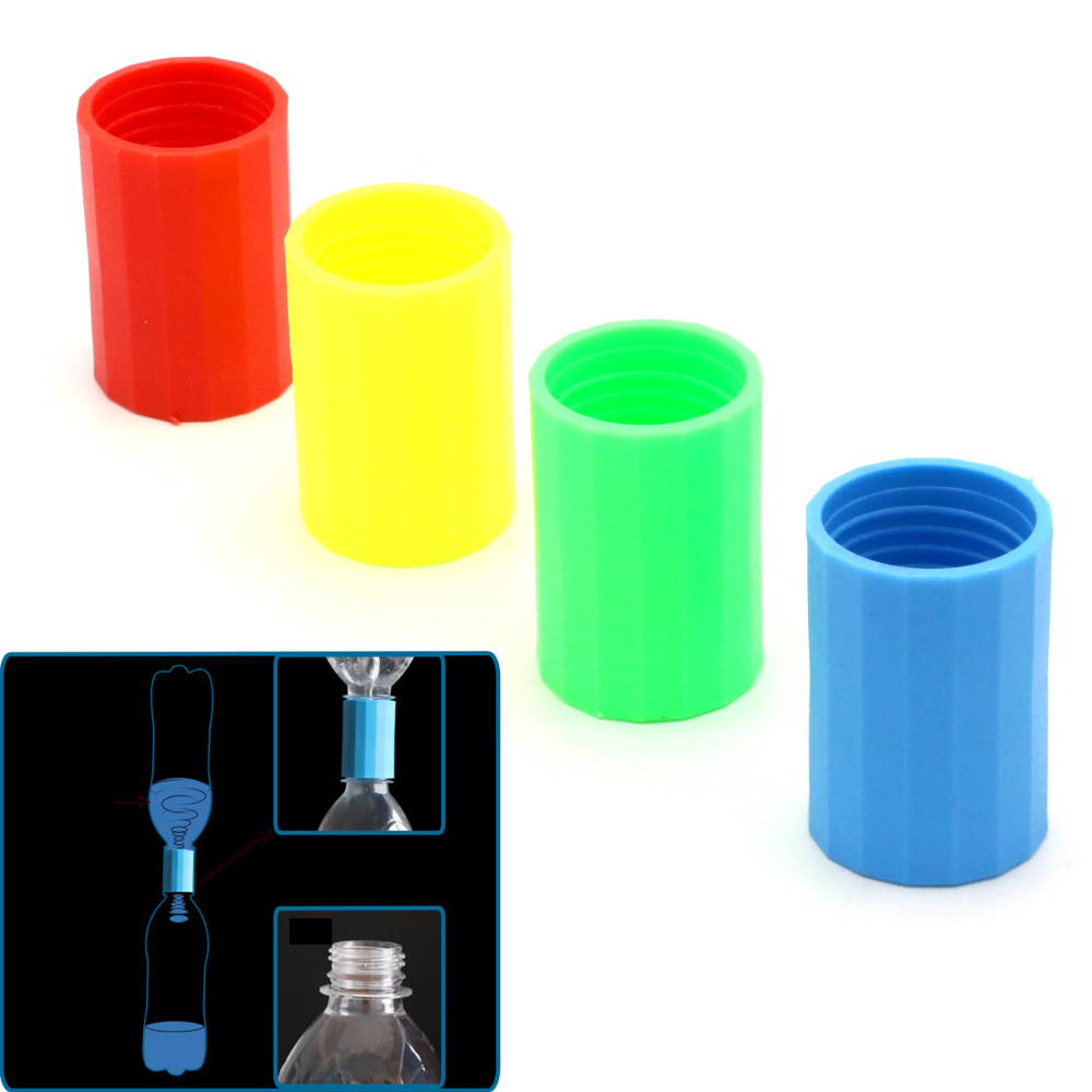 2pcs/lot Vortex Bottle Connector Tornado In A Bottle Cyclone Tube Tornado Maker Magic Toy