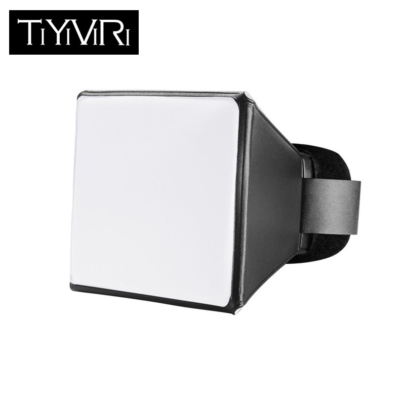 Софтбокс для фотосъемки, мини-софтбокс с рассеивателем, складной, для скоросветильник Canon EOS Nikon