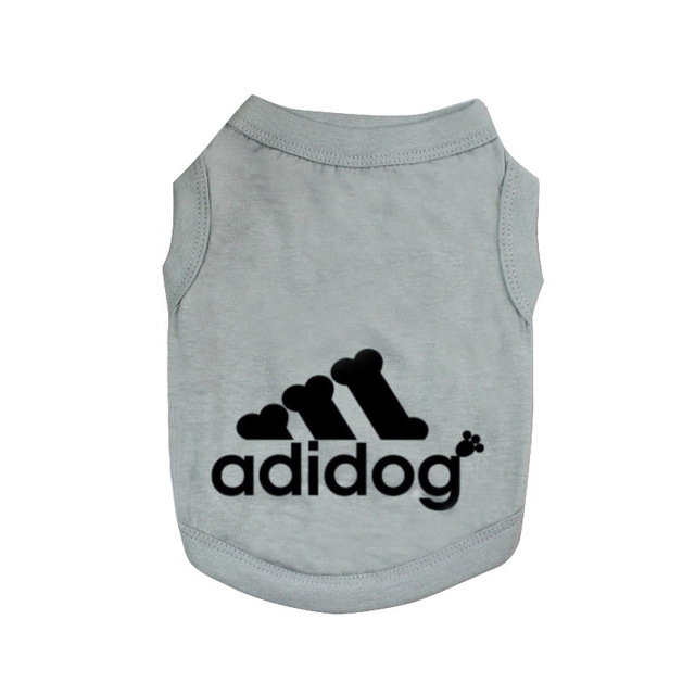 Adidog Summer Pet Dog Cat Vest Clothing for Small Large Dogs,Breathable 100% Cotton Pet Shirt,Chihuahua French Bulldog Clothing 6