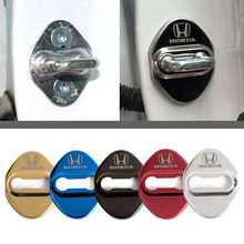 Door Lock Cover case for Mugen Power Honda Civic Accord CRV Hrv Jazz accessories car styling