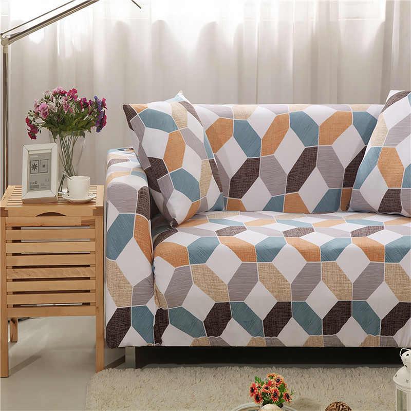 Чехол для дивана, растягивающийся подлокотник, Большой Диван, чехол с геометрическим принтом, домашняя мебель, протектор от питомца для гостиной