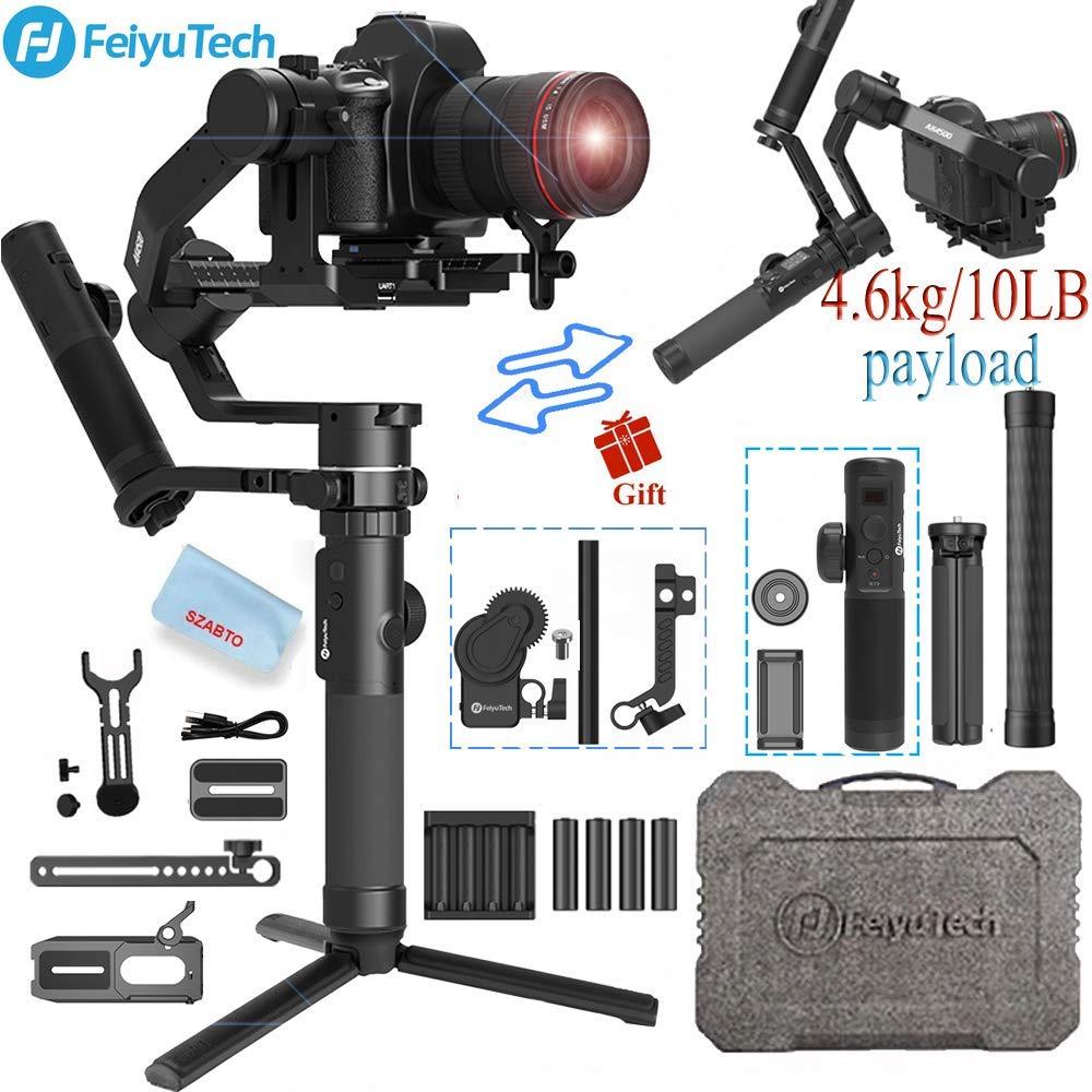 FeiyuTech AK4500 Camera Stailizer 3 Axis Handheld Gimbal for Sony/Canon/Panasonic/Nikon,Payload 10.14lbHandheld Gimbal   -