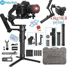 FeiyuTech AK4500 Camera Stailizer 3 Axis Handheld Gimbal for Sony/Canon/Panasonic/Nikon,Payload 10.14lb