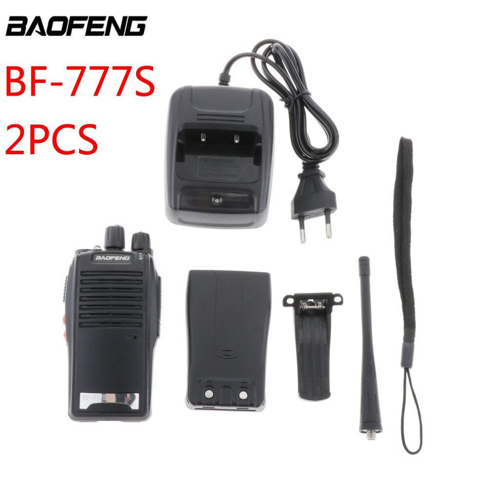 """2 шт./компл. Baofeng 1 пара иди и болтай Walkie Talkie """"иди и BF777s Baofeng BF-777s с наушником 5 Вт 16CH UHF переговорные Baofeng 777S двухстороннее радио"""