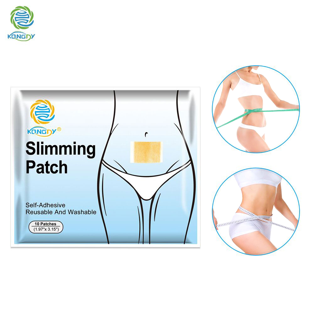 KONGDY 200 Patches Natural Fat Burning Slimming Navel Stick 5x8cm Effective Anti Cellulite Slim Patch Weight Loss Fat Patch