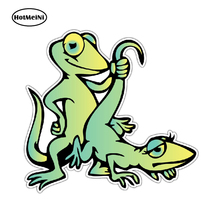 цена на HotMeiNi 4 x 5 Gecko Lizard Sex Adult Funny Car Bumper Window Decor Vinyl Sticker Decal Waterproof Car Styling Accessories