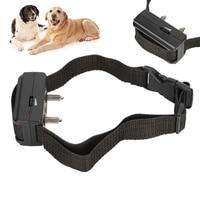 Haustier Hund Elektronische Antibell Kragen Wasserdichte Anti Bark Trainer Einstellbar Sound Doggy Ausbildung Haustiere Schulungen Werkzeuge