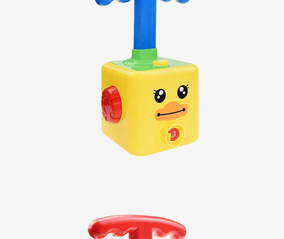 balão lançamento torre brinquedo para crianças presente