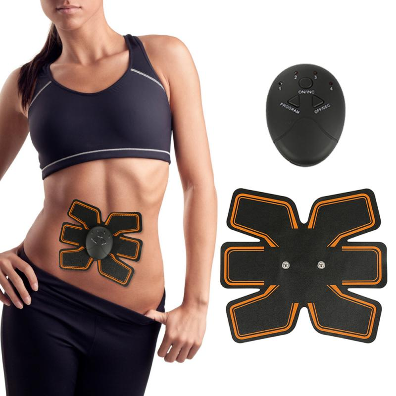 EMS Abdominal Trainer Battery Home Fitness Abdomen Instrument Muscle Trainer Abdominal Muscle Abdomen Abdominal Paste #ND
