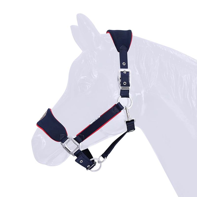 Horse Rope Halter Headcollar Equestrian Equipment Adjustable Thicken Horse Riding Bridle Head Collar Horseback Strap Accessories 3