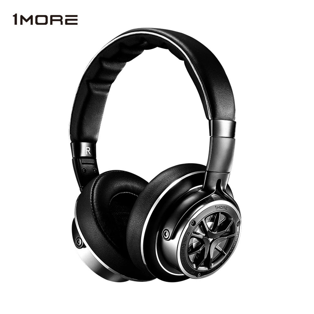 1MORE H1707 Triple Driver Over Ear Headphones Mp3 Bass Hifi Headband Headphones for iOS and Android Xiaomi-in Earphones & Headphones from Consumer Electronics