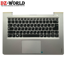 Keyboard Lenovo Touchpad Laptop Latin-Spain with Shell-C-Cover Palmrest Upper-Case And