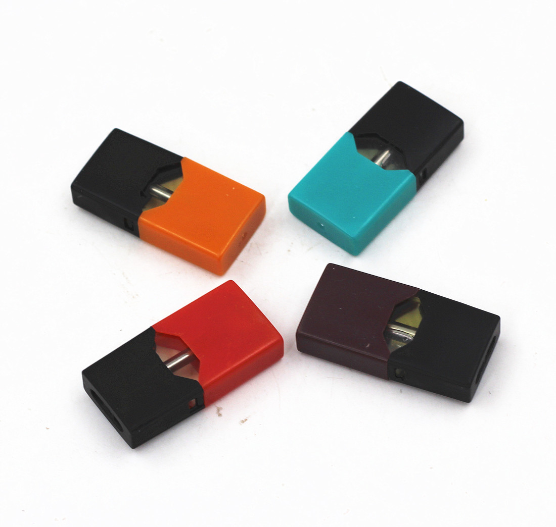 4Pcs Cartridge Replacement Pods 0.7ml Capacity Pod Vape Tank Compatible With JUUL Pod System Device Pen Starter Kit