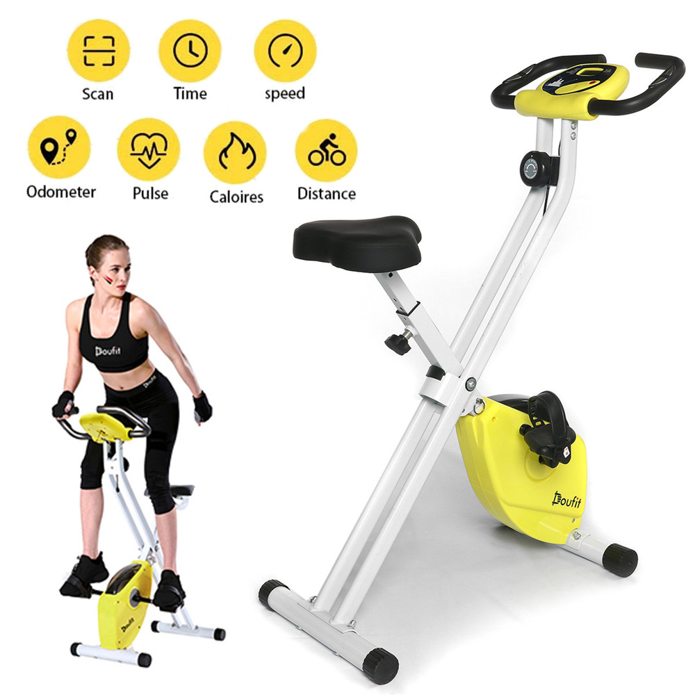 Doufit Professional Home Exercise Bike Indoor LCD Fitness Cycling Training Gym Sport Bicycle Equipment Household Cycling Bikes