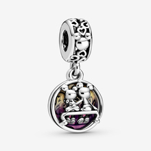 2020 New Series S925 Sterling Silver Beads Mouse Happily Ever After Dangle Charms fit Original Pandora Bracelets Women  Jewelry