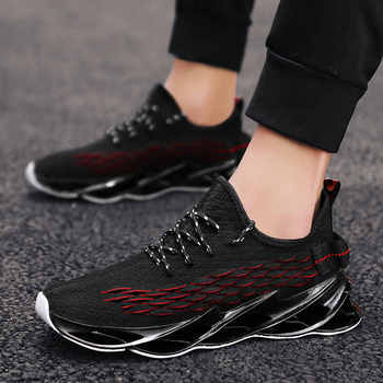Trampki męskie buty trampki dla mężczyzn buty sportowe męskie marki męskie buty do biegania buty męskie sportowe tenisowe męskie treningi tanie i dobre opinie ChouNiZaDi CN (pochodzenie) Lunlar Zapewniające stabilność Do użytku na trawie na zewnątrz Początkujący oddychająca