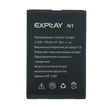 NEW Original 1300mAh N1 battery for EXPLAY N1 High Quality Battery+Tracking Number new laptop lcd cable for dell e6540 vala0 edp 30pin org pn dc02c009m00 0rdyp1 screen lvds connector