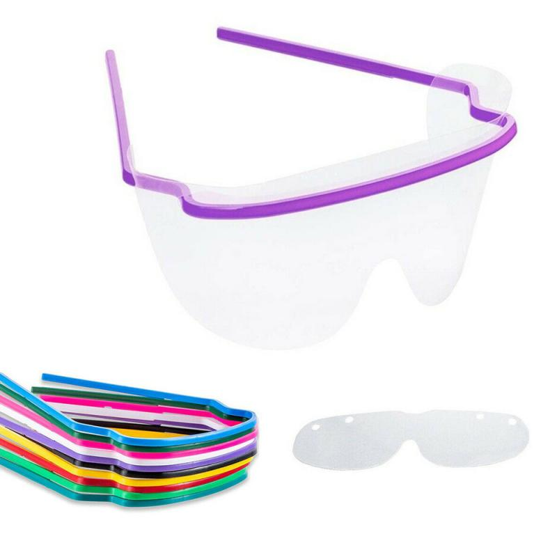 Disposable Motorcycle Goggles Car Glasses Fog Proof Goggles Eye Safety Eyeware Motorcycle Accessories Color Random