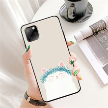 Case for Iphone XS Max XR Iphone11 Pro Max Ip7 8Plus 6 Case Cute Cartoon Cat Tpu Silicon Black Case Full Protective Back Cover protective back case for iphone 4 4s silver black