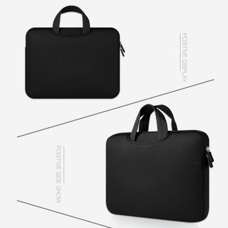 Simple Men Women Bag Business Nylon Computer Handbags Portable Zipper  Laptop Bag Men Laptop Bag