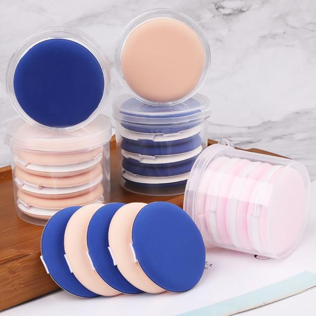 10pcs Makeup Blender Cosmetic Puff Makeup Sponge Soft Foundation Powder Sponge Puff  Beauty Tools for Women Make Up Accessories 1