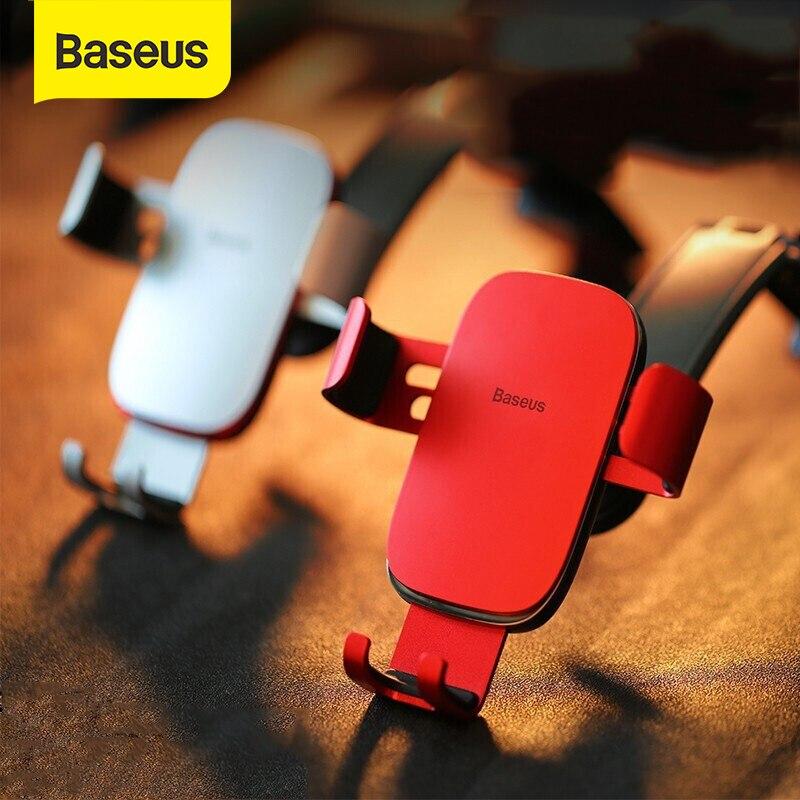 Baseus Car Phone Holder Foldable Dashboard Car Mount Holder Gravity Mobile Phone Holder Stand For IPhone Paste Holder