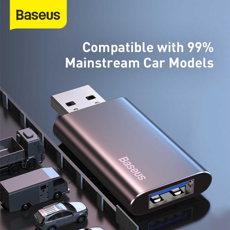 Baseus車のusbフラッシュドライブ 16 ギガバイト 32 ギガバイト 64 ギガバイトペンドライブのuディスクのusb 3.0 メモリスティック 2 で 1 充電器ペンドライブコンピュータフラッシュドライブ