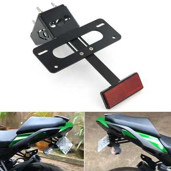 For Kawasaki Z1000 Z1000SX Ninja1000 Motorcycle Tail Tidy Fender Eliminator kit Registration License Plate Holder Bracket недорого
