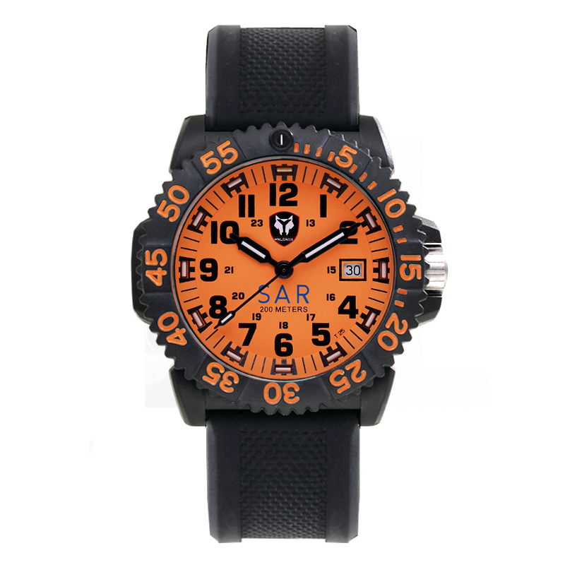 2019 Men Military Watches  Quartz Movement Watch Radon Self-Illuminated Outdoor Rescue Edition Seal Force Diving Wrist Watch